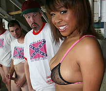 Brooklyn Carter Ebony Interracial