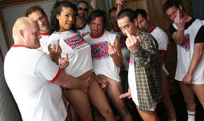 Desiree Diamond Gang Fucked By Rednecks!