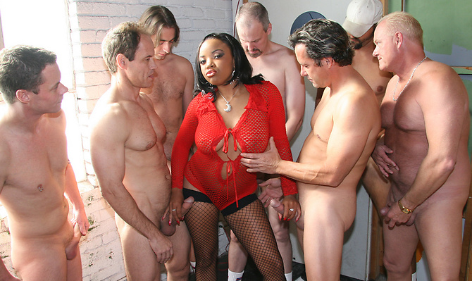 Stacie Lane Gang Fucked By Rednecks!
